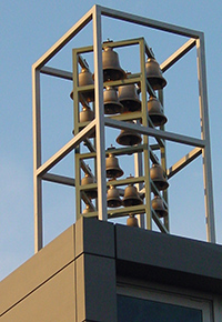 Campa, Bell installations - Monumental clocks - Carillons, Chimes